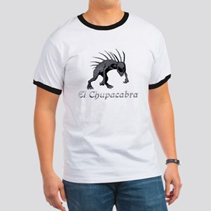 Chupacabra Grey Scales Ringer T