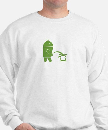 Android pissing on Apple. Jumper