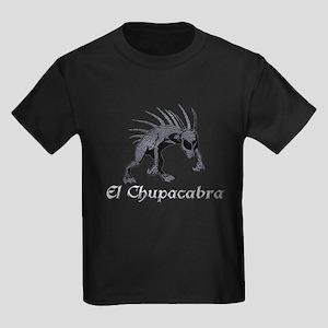 Chupacabra Grey Scales Kids Dark T-Shirt