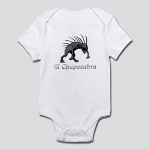 Chupacabra Grey Scales Infant Bodysuit