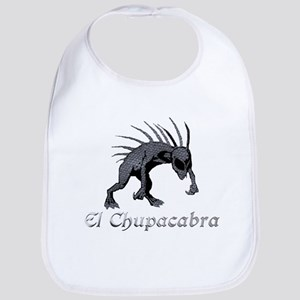 Chupacabra Grey Scales Bib