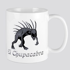 Chupacabra Grey Scales Mug