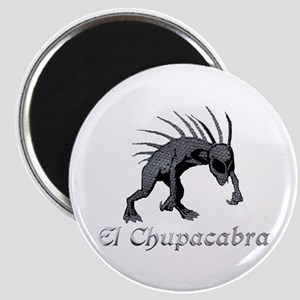 Chupacabra Grey Scales Magnet
