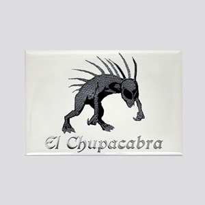Chupacabra Grey Scales Rectangle Magnet