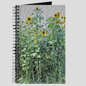 Field of Sunflowers -- granite effect Journal