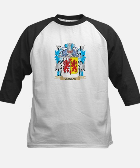 Quinlan Coat of Arms - Family Cres Baseball Jersey