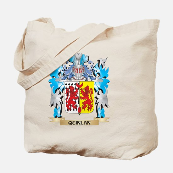 Quinlan Coat of Arms - Family Crest Tote Bag