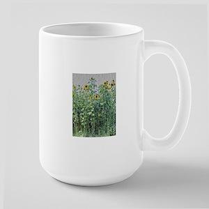 Field of Sunflowers -- granite effect Mugs