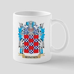 Quinones Coat of Arms - Family Crest Mugs