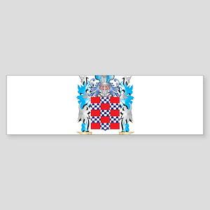 Quinones Coat of Arms - Family Cres Bumper Sticker