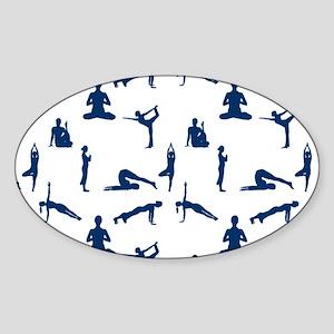 Yoga Position Sticker
