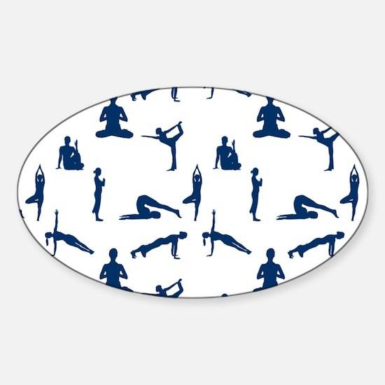 Yoga Position Decal