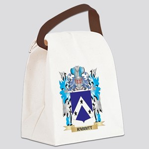 Rabbitt Coat of Arms - Family Cre Canvas Lunch Bag