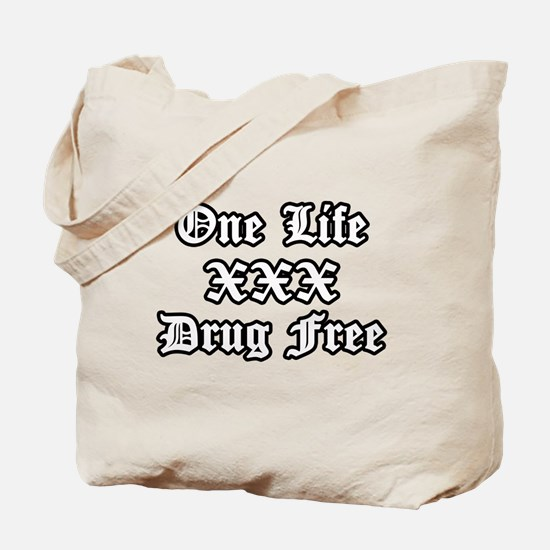 One Life Drug Free Tote Bag