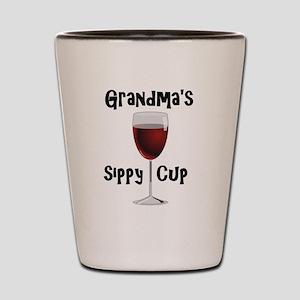 Grandma's Sippy Cup Shot Glass