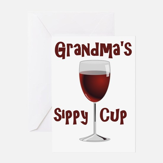 Grandma's Sippy Cup Greeting Card