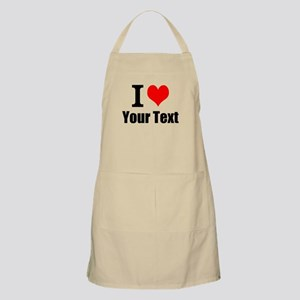 I Heart (your text here) Apron