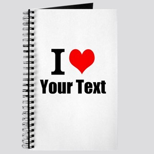 I Heart (your text here) Journal