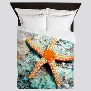 Pretty Starfish Queen Duvet