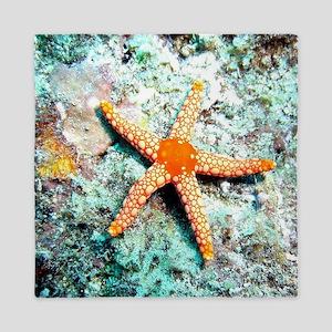 Pretty Starfish Queen Duvet