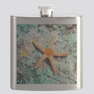 Pretty Starfish Flask
