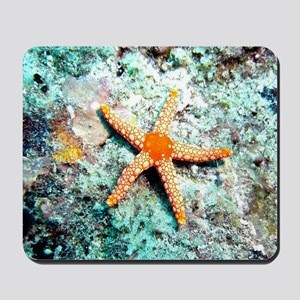 Pretty Starfish Mousepad