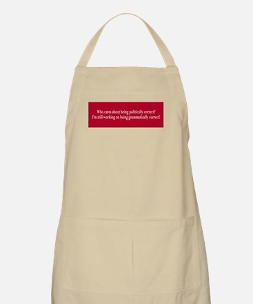 Who cares politically correct Apron