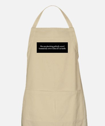 Politically Correct Apron