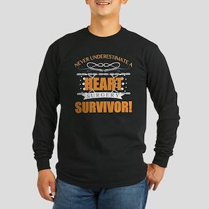 Heart Surgery Survivor Long Sleeve T-Shirt
