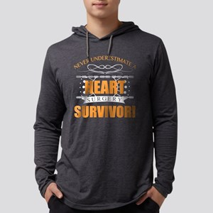 Heart Surgery Survivor Long Sleeve T-Shirt