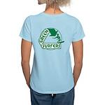 Green Surfers Women's Light T-Shirt