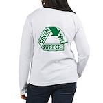 Green Surfers Women's Long Sleeve T-Shirt