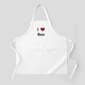 I Love Roo BBQ Apron