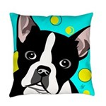 Boston Terrier Lover Everyday Pillow