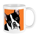 Boston Terrier 11 Oz Ceramic Mug Mugs