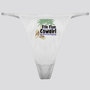 Flip Flop Cowgirl Classic Thong