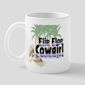 Flip Flop Cowgirl Mug