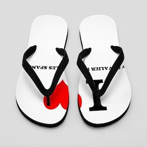I Love My CAVALIER KING CHARLES SPANIEL Flip Flops