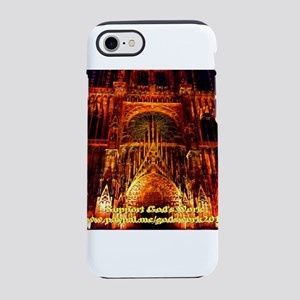 Support God's Work iPhone 7 Tough Case