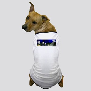 Alien Visit & UFO ~ Dog T-Shirt