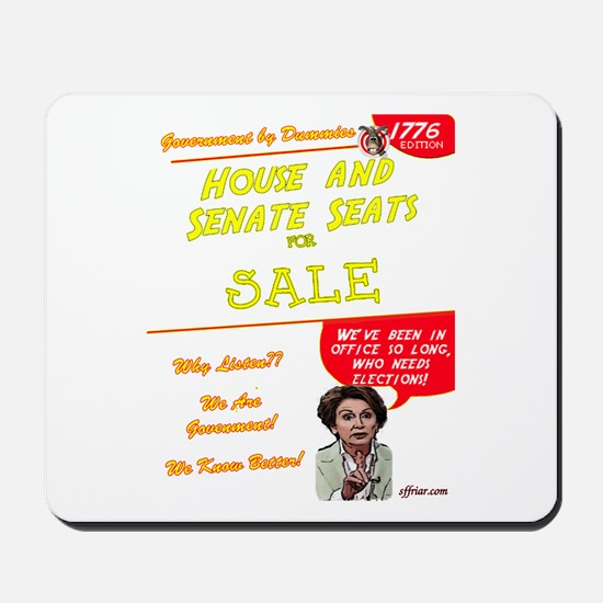 """Seats For Sale"" Mousepad"