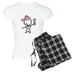 Boy & Pink Ribbon Women's Light Pajamas