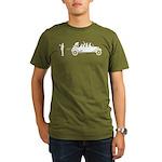 Car Evolution Organic Men's T-Shirt (dark)