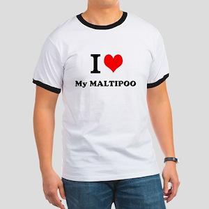 I Love My MALTIPOO T-Shirt