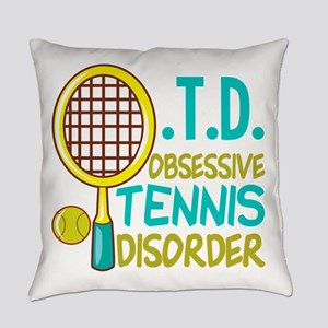 Funny Tennis Everyday Pillow