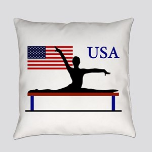USA Gymnastics Everyday Pillow