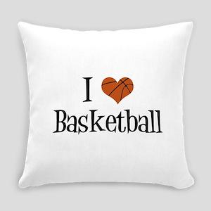 I Heart Basketball Everyday Pillow