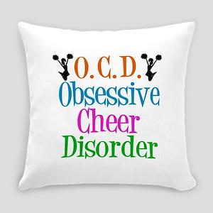 Cute Cheerleader Everyday Pillow