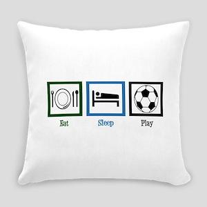 Eat Sleep Soccer Everyday Pillow