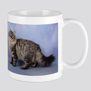 siberian spotted tabby cat Mugs